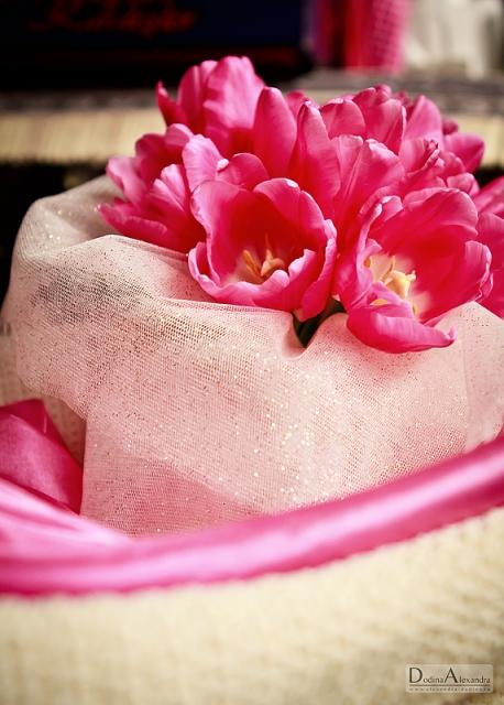 Букет невесты. Тюльпаны.
