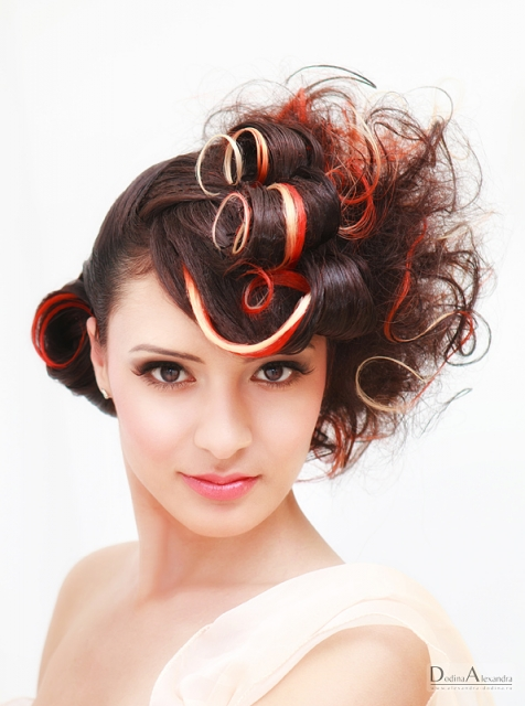 Фотосессия 2011. Прически, макияж.