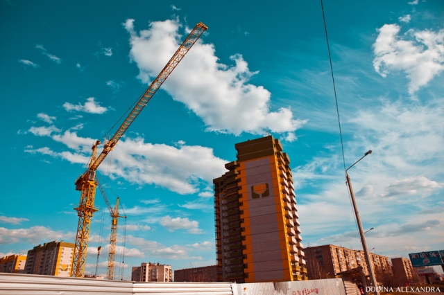 Стрит фото на тему строительства