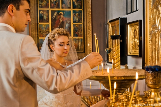 Свадьба в церкви