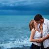 Love Story. Фотосессия под дождем